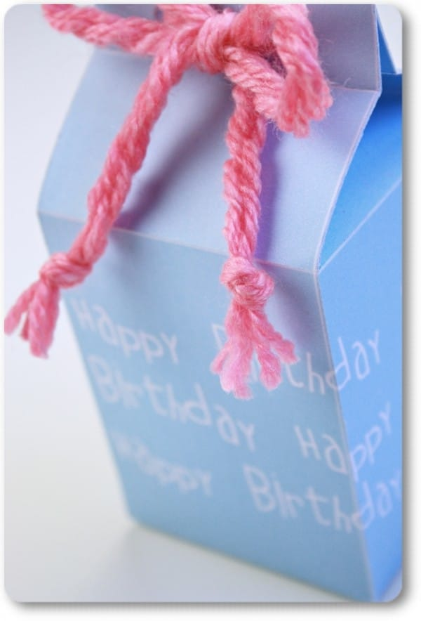"Geschenkboxen ""happy birthday"" {Free Printable}"
