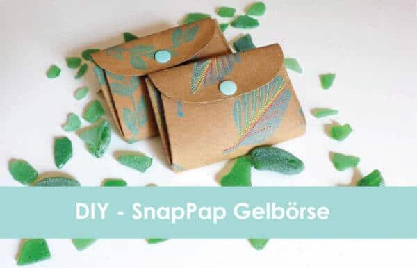 DIY SnapPap - Geldbörse