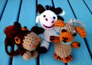 """Die kleine Kuh """"Mucca"""" - Häkelanleitung, kostenlos"""