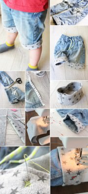 Aus Jeans Shorts machen