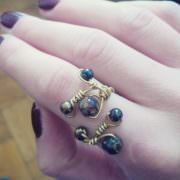 Ring aus Draht biegen