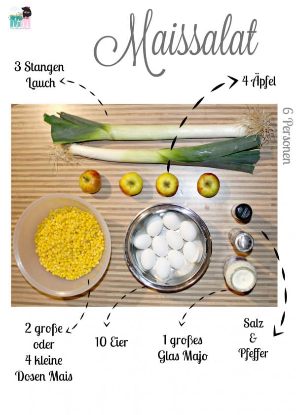 Leckerer Maissalat - Perfekt zum Grillen
