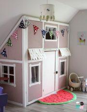 DIY – Ein Hausbett im Kinderzimmer – #chellisrainbowroom - mit extra Funktion