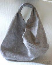 Origami Einkaufstasche aus einer Umzugsdecke