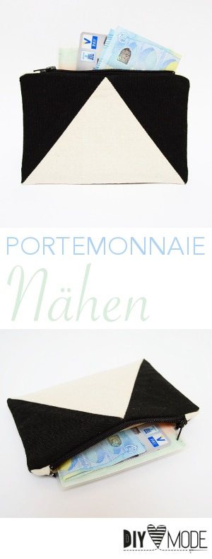 Portemonnaie nähen / Video-Anleitung