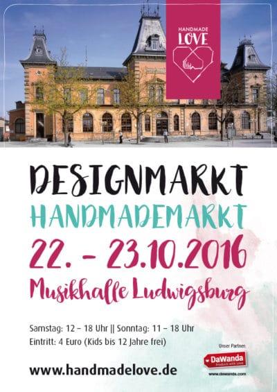 Handmade Love Design & Handmademarkt in Ludwigsburg