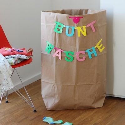 DIY für einen Wäschesack