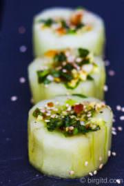 Koreanisches Gurken-Kimchi (Oi Kimchi) - die würzig-frische Beilage zum Grillen [Birgit D]