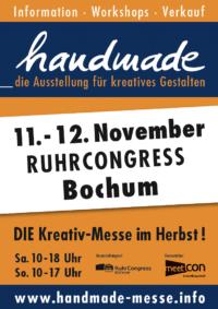 handmade – die Ausstellung für kreatives Gestalten
