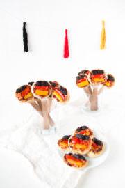 Pizza Pops in Deutschland Farben