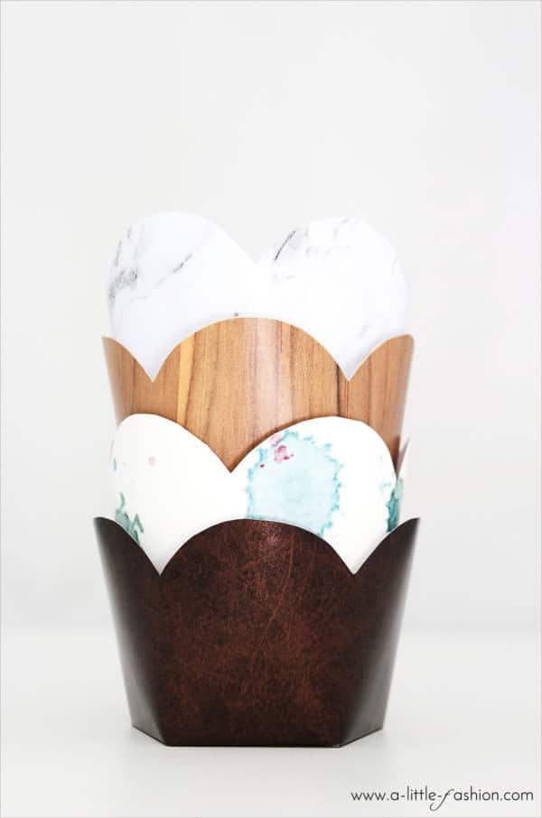 Muffin-Förmchen in Wunschdesign selber machen