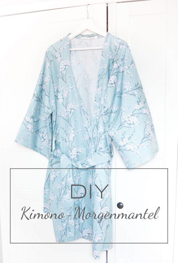 DIY Kimono-Morgenmantel - HANDMADE Kultur