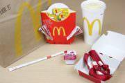 Geldgeschenk in McDonalds Verpackung