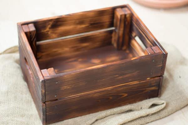 Holz im rustikalen Stil selbst herstellen