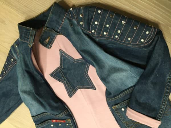 Upcycling Jeans....ich war einmal die Jeans von Papa