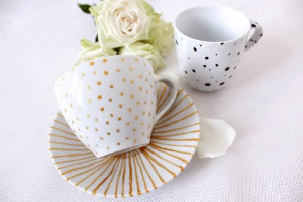 DIY Tassen Bemalen - HANDMADE Kultur