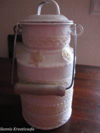 Milchkannenvase