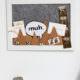 Muh: Pinnwand mit Mini-Kühen