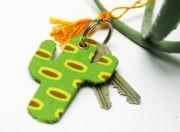 Ein Kaktus für den Schlüsselbund
