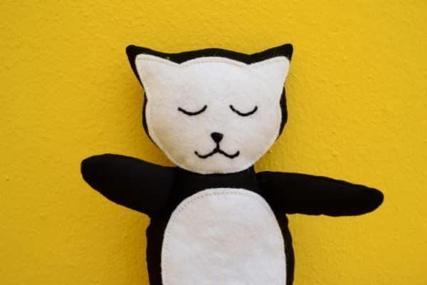Kuscheltier Katze nähen / Videoanleitung - HANDMADE Kultur