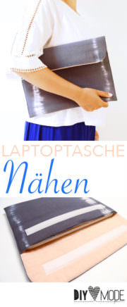 Laptoptasche nähen / Videoanleitung