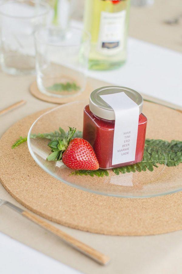 Beschwipste Erdbeermarmelade von den [Foodistas]