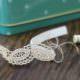 Haarband aus Spitzenborte - DIY