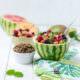 Obstsalat mit knusprigem Quinoa von den [Foodistas]