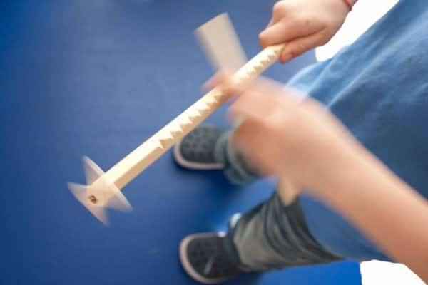 Kinderspiel aus Holz: Hui Hui Maschine