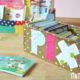 Basteln mit Kindern - Pixibuch-Kiste aus Schuhkarton