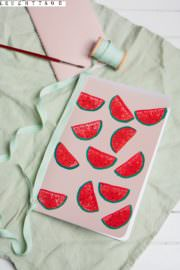 Melonen-Notizbuch