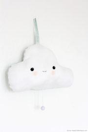 Meine kleine Wolke - Spieluhr aus Stoff