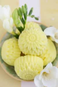Laktosefreies Zitronen-Joghurt-Eis