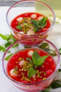Melone – melon – дыня – арбуз – erfrischende Rezepte für heiße Sommertage [Birgit D]