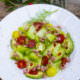 Sommersalat mit Melone, Avocado, Tomaten & Krabben - frisch, fruchtig und würzig [BirgitD]