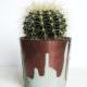 DIY Blumentopf Upcycling Kupfer und Glasur
