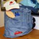 Upcycling Badetasche aus alter Jeans