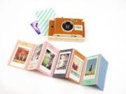 DIY Foto-Leporello aus verschossenen Fotos