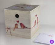 Box zur Hochzeit für Wünsche, Ratschläge etc.