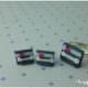 Retro Kassette als Schmuck | FIMO polymerclay miniature art
