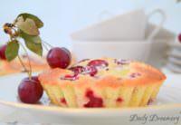 sommerlicher Kirsch-Limetten-Kokos-Kuchen