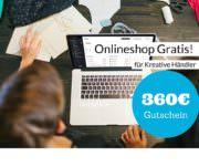 Bis Ende Juli! 100 kostenlose Online-Shops für Kreative Händler