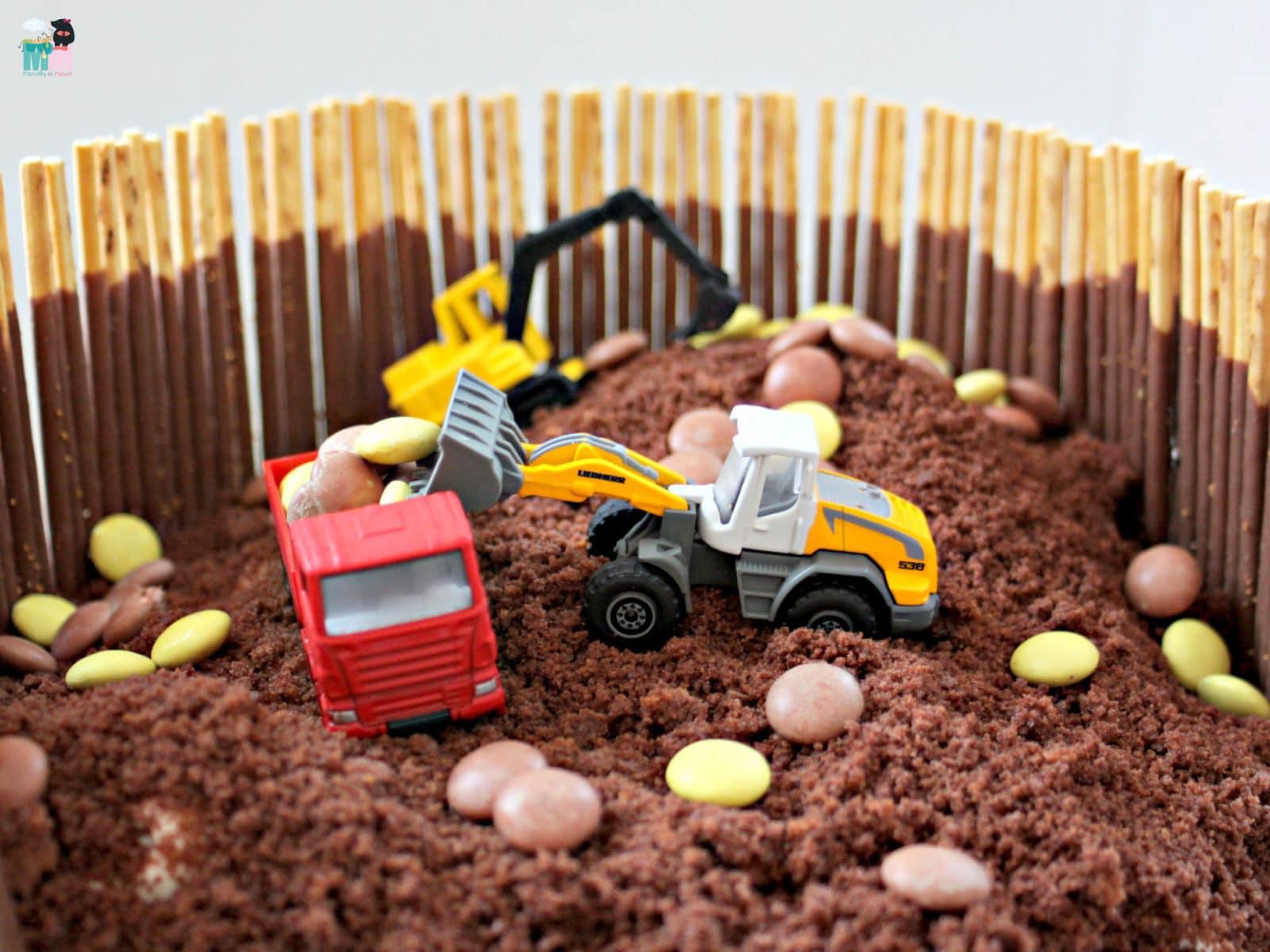 Bagger Kuchen Idee Idiotensicher Handmade Kultur