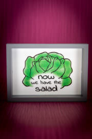 now we have the salad - Free-Printable