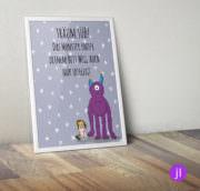 """A4 Kinder-Poster """"Monster"""""""