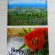 Postkarten aus Ferienfotos