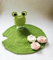 Frosch Babyfoto Set