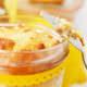 Zitronen-Joghurt Kuchen im Glas