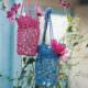 Gehäkelte Vasenhalter