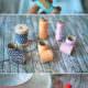 Serviettenringe aus Bäckergarn